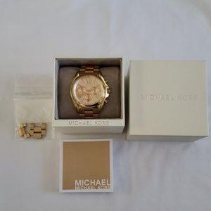 Micheal Kors Roman numeral watch rose MK5503